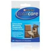 Total Care Chocolate Worming Treatment for Dogs