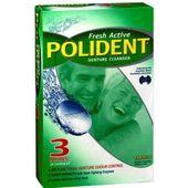 Polident Fresh Active Denture Cleanser