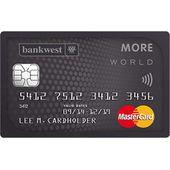 Bankwest More World Mastercard