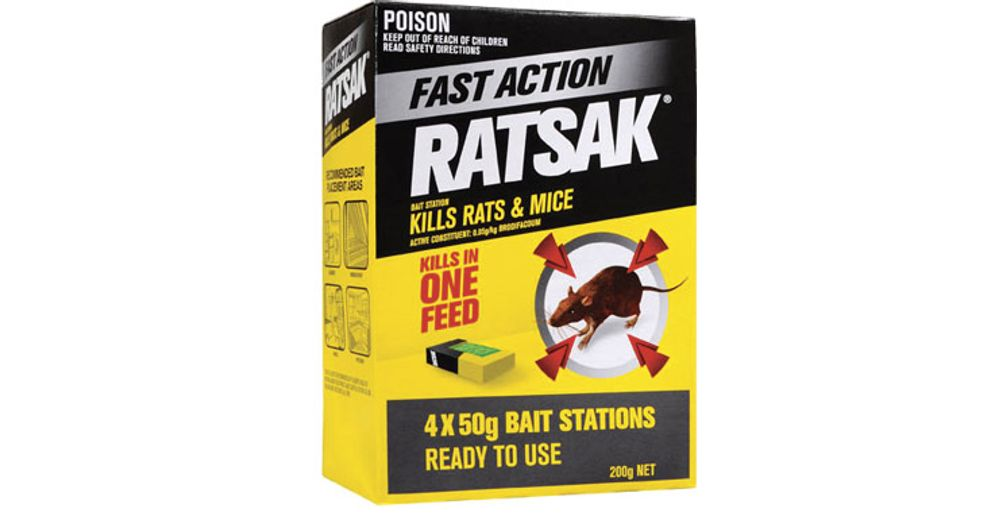 Fast Action Bait Station