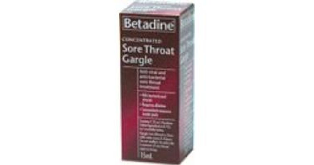 Concentrated Sore Throat Gargle