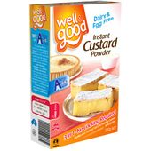 Well & Good Gluten Free Instant Custard Powder