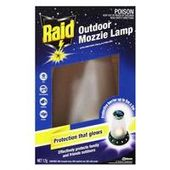 Raid Outdoor Mozzie Lamp