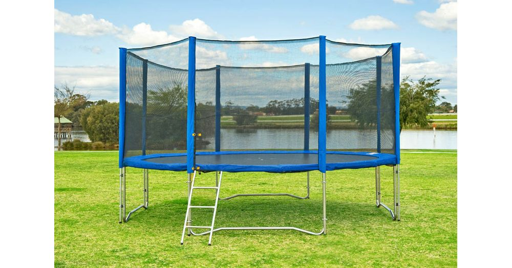 Sports Direct 12ft Trampoline With Enclosure Reviews