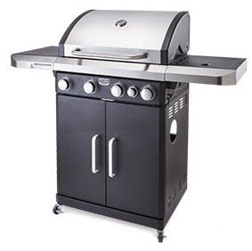 Aldi Camping Gasgrill 2018 : Coolabah aldi four burner stainless steel hooded reviews