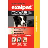 Exelpet Itch Wash for Dogs