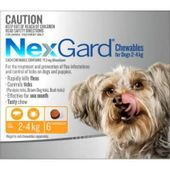 NexGard Chewables Orange (For Dogs 2 - 4kg)