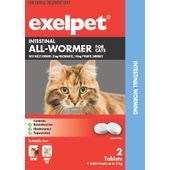 Exelpet Intestinal All-Wormer For Cats