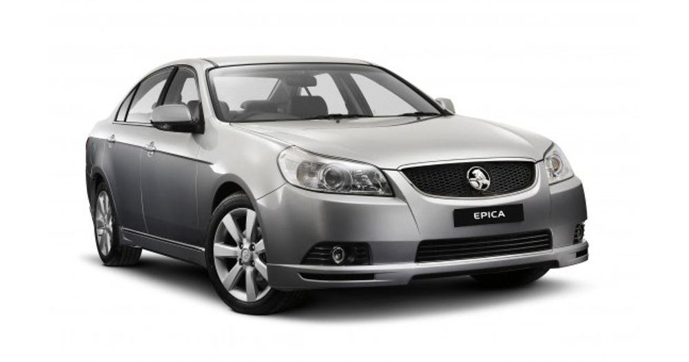 Holden Epica (2007-2011) Reviews - ProductReview com au