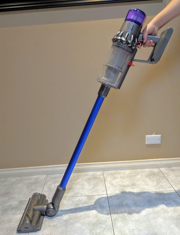 The Dyson V11 Absolute ready to go