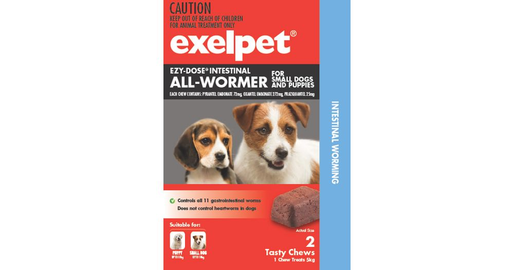 EZY-DOSE Intestinal All-Wormer For Dogs