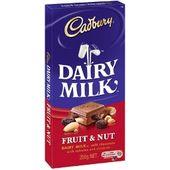 Cadbury Fruit and Nut