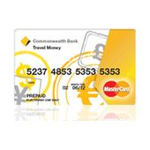 Commonwealth Bank Travel Money Card