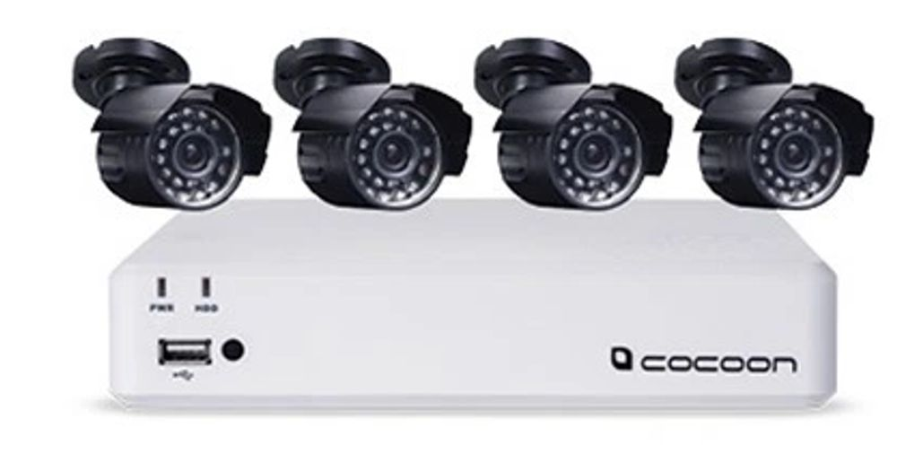 Outdoor IP Security Camera