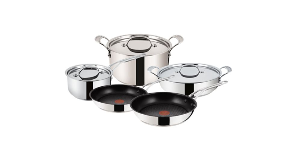 Home, Furniture & Diy Useful Stainless Steel 5pc Cookware Casserole Stockpot Pot Hob Set With Glass Lids Reputation First