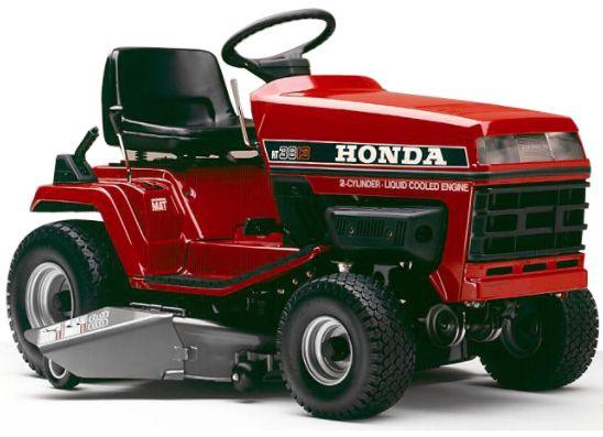 Honda riding lawn mower
