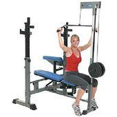 Healthstream Heavy Duty Exercise Bench