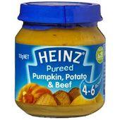 Heinz Pureed Pumpkin, Potato & Beef