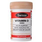 Swisse Ultiboost Vitamin D / Calcium + Vitamin D