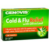 Cenovis Cold & Flu Relief with Olive Leaf