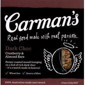 Carman's Dark Choc Cranberry & Almond