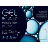 Bas Phillips Gel Infused Memory Foam Pillow