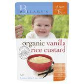Bellamy's Organic Vanilla Rice Custard