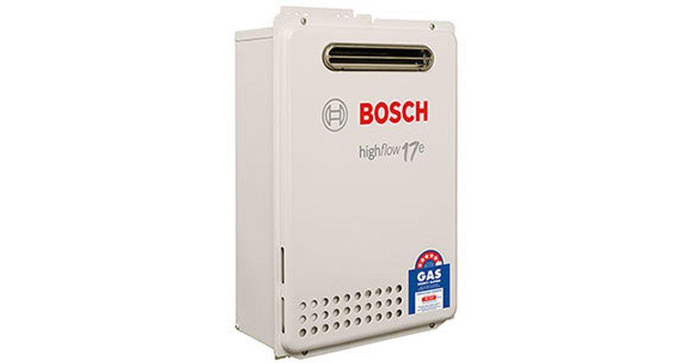 Bosch Hot Water & Heating Electronic Highflow 17e Questions