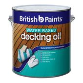 British Paints Decking Oil Water Based