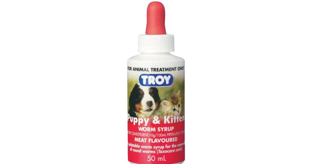 Troy Puppy And Kitten Worm Syrup Reviews Productreviewcomau