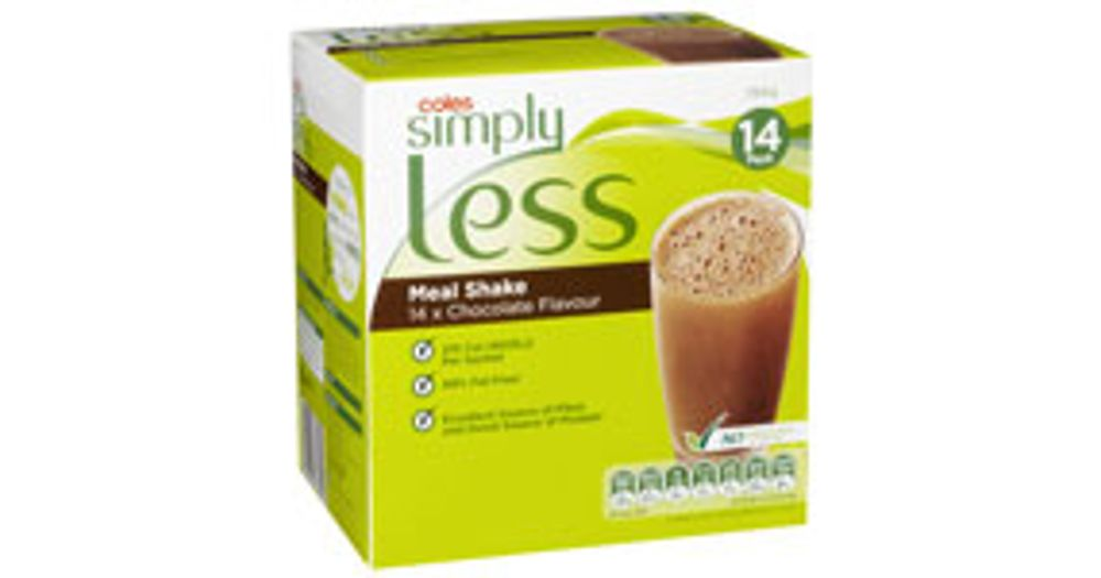 Simply Less Meal Replacement Shakes