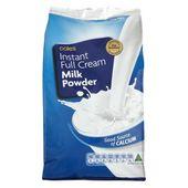 Coles Milk Powder Full Cream