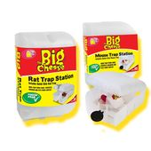 The Big Cheese Traditional Mouse and Rat Trap Station