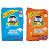 Pledge Grab-It Electrostatic Dusting Cloths