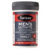 Swisse Men's Ultivite Formula 1