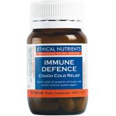 Ethical Nutrients Immune Defence Cough Cold Relief