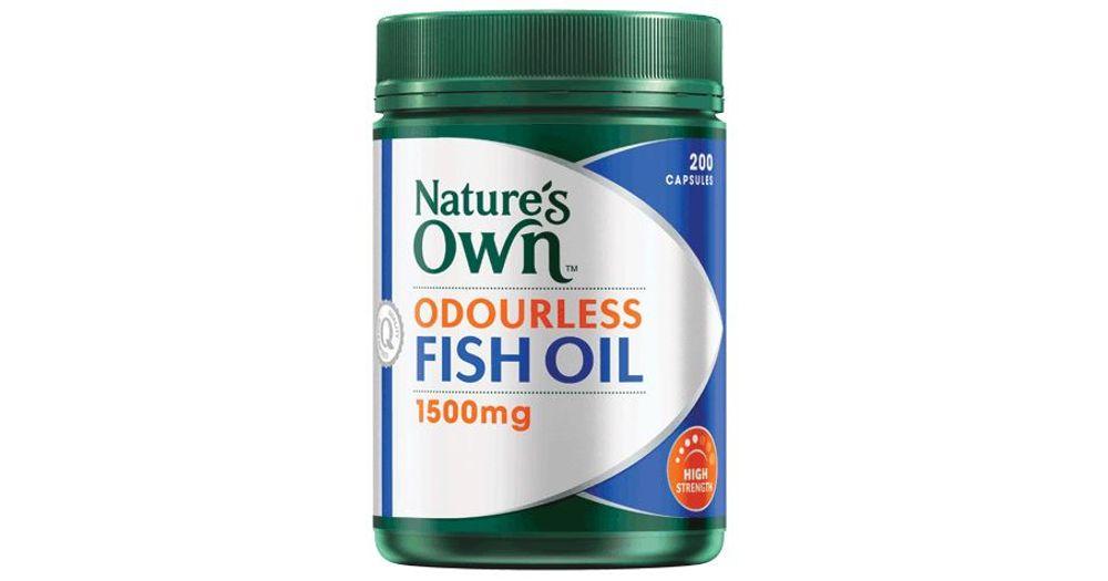 Odourless Fish Oil