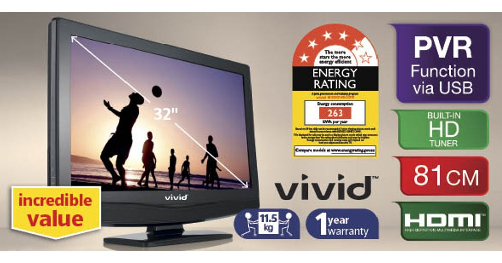 Aldi Vivid Series Questions - ProductReview com au