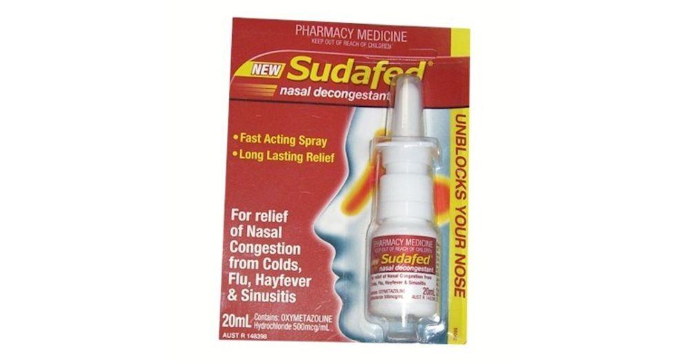 Nasal Decongestant Nasal Spray
