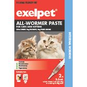 Exelpet All-Wormer Paste For Cats