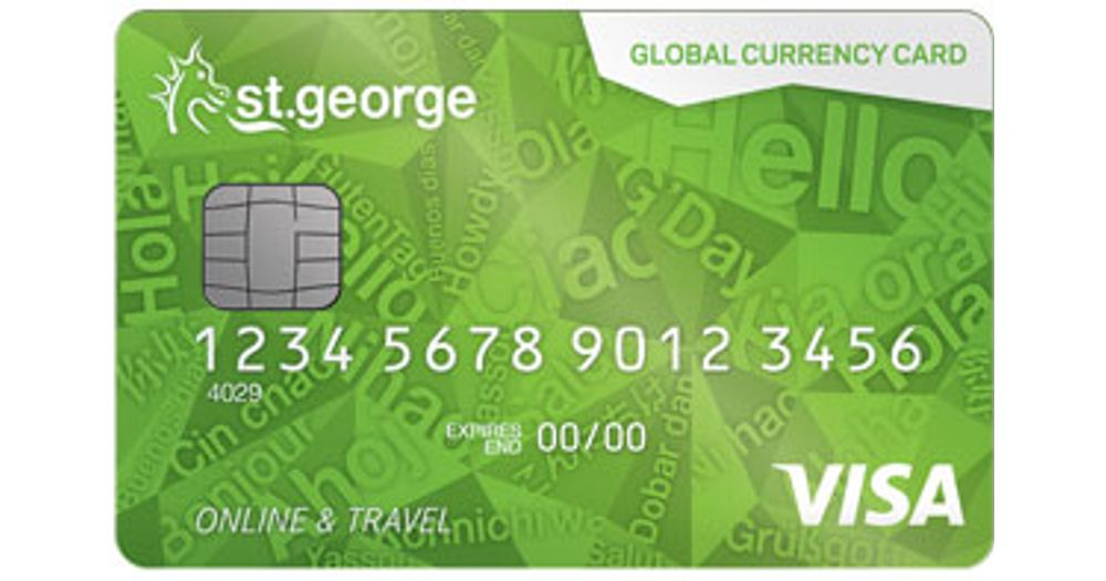 St George Global Currency Card Reviews - ProductReview com au