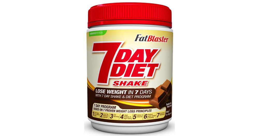Fatblaster 7 Day Diet Shake