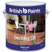 British Paints Decking Oil