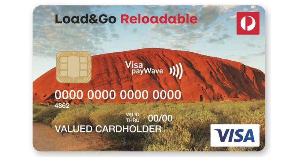 Australia Post Load&Go Reloadable Visa Prepaid Reviews