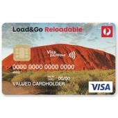 Australia Post Load&Go Reloadable Visa Prepaid