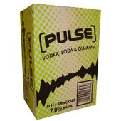 Pulse Green Vodka, Soda and Guarana