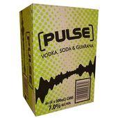 Pulse Green Vodka, Soda and Guarana