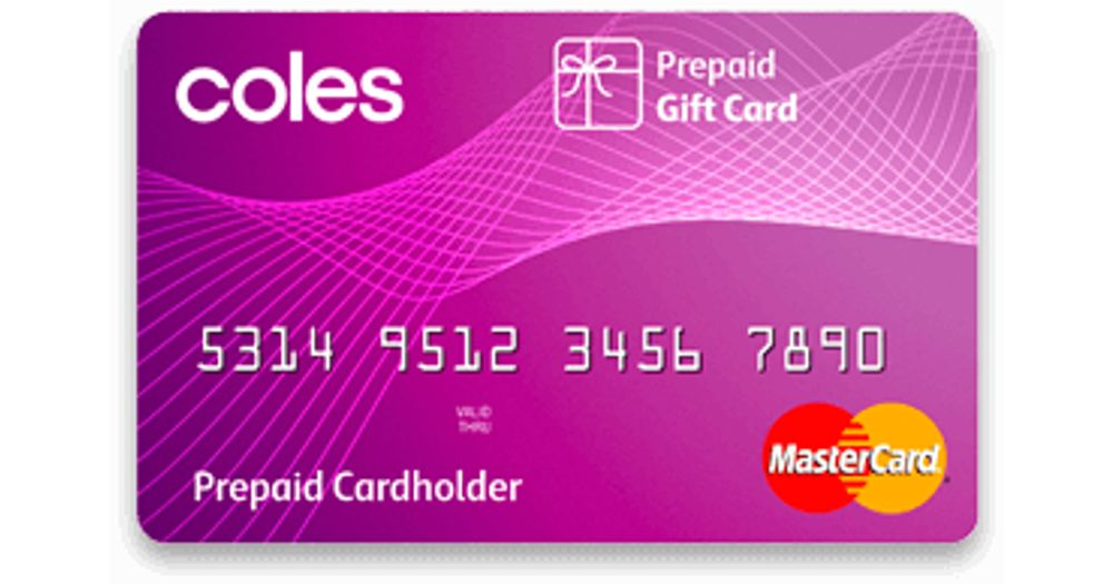 Coles Gift Mastercard Reviews - ProductReview com au