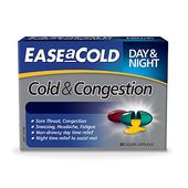 EASEaCOLD Cold & Congestion Day & Night